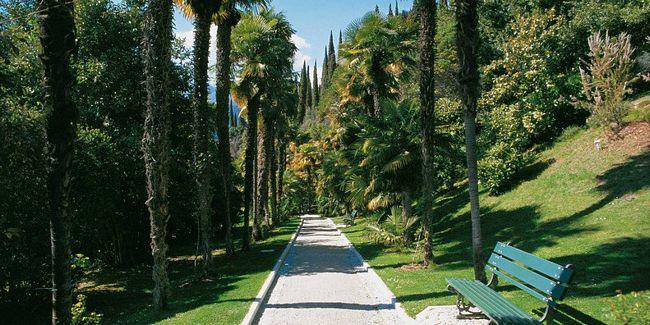 Parco Alboreto a Arco, vicino al Lago di Garda