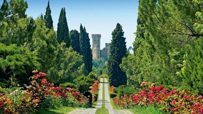 Parco naturale Sigurtà, a Valeggio sul Mincio, vicino al Lago di Garda