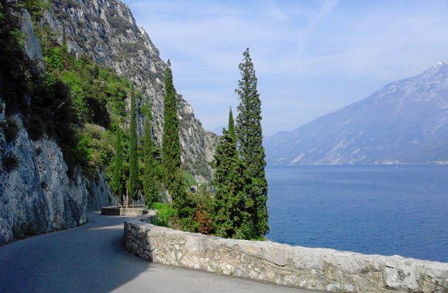 Strada della Forra, Tremosine, Lago di Garda