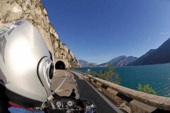 itinerari in moto sulle rive del Lago di Garda