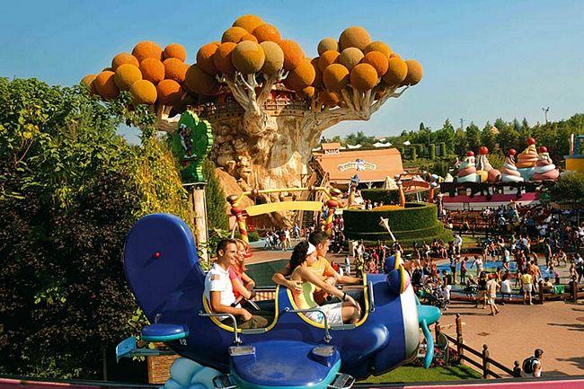 Area per bambini a Gardaland, parco divertimenti sul Lago di Garda