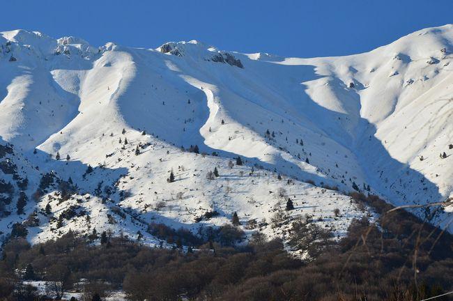 Monte Baldo ricoperto di neve