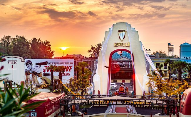 il parco Movieland di Lazise tematizzato per hallowen