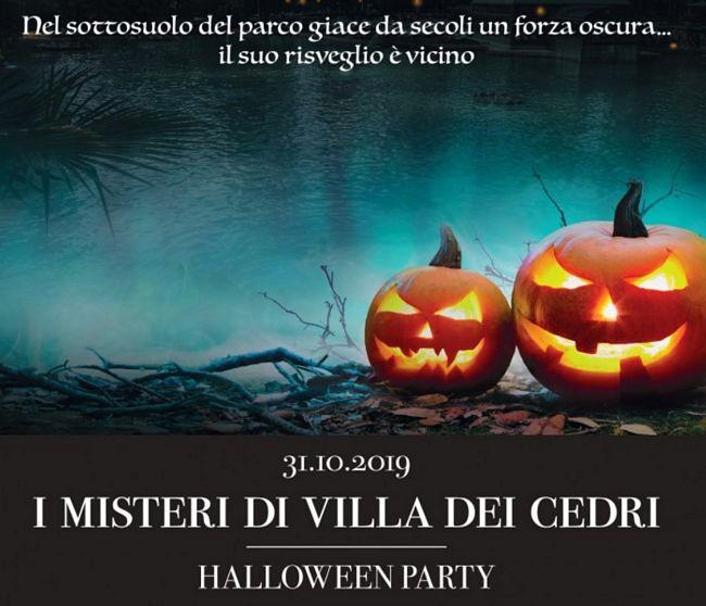 halloween party 2019 alle terme di Villa dei Cedri a Colà di Lazise sul Garda