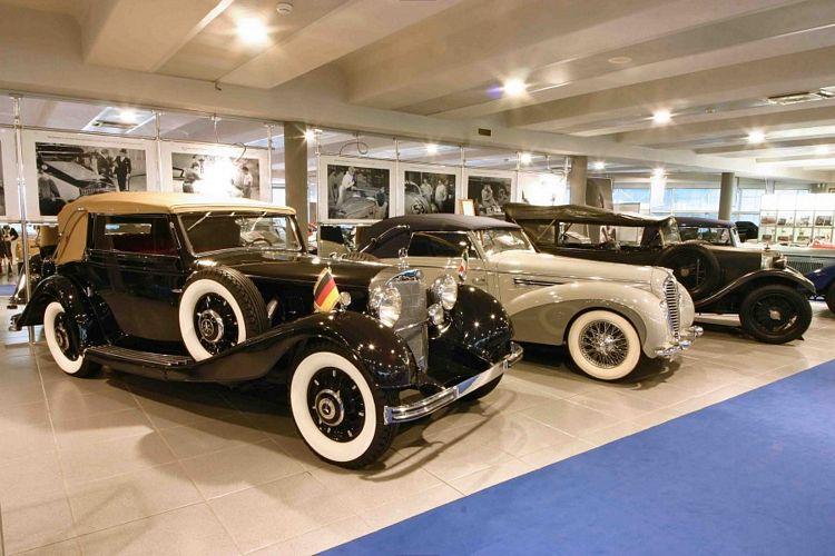 Auto d'epoca in mostra al Museo Nicolis di Villafranca di Verona