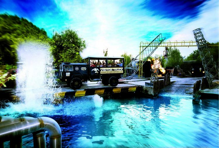 Camion militare di Magma, la grande attrazione di Movieland