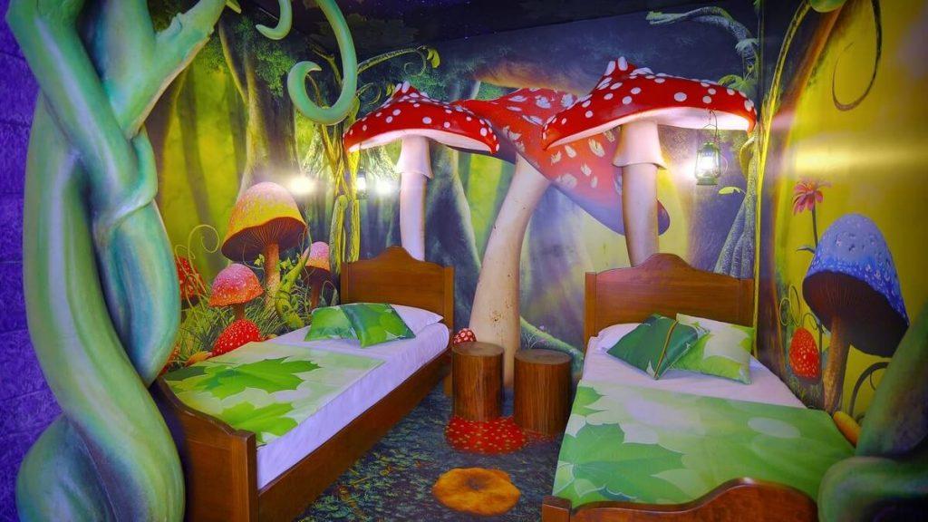 Camera Foresta Incantata del Gardaland Magic Hotel