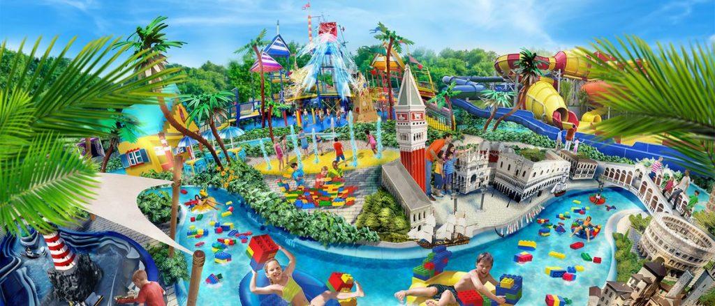 Attrazioni e miniature Lego del Legoland Water Park Gardaland